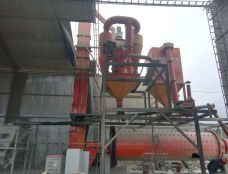 Peruvian cement production line installation victor